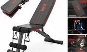 Weight Bench, Adjustable Weight Bench, Strength Training Benches For Full Red