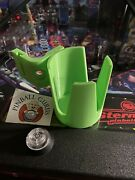 Pinball Machine Drink/cup/pop/soda/beverage Holder All Side Mountable - Green