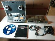 Studer A810 Reel To Reel Tape Recorder W/ Tls 4000 Control Unit And Synchronizer