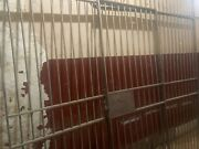 Bank Vault Cage Wall And Doors Beautiful Antique Believed To Be Stainless Steel