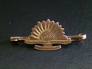 Ww1 Australian Commonwealth Military Forces 9ct Gold Sweetheart Brooch