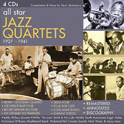 All Star Jazz Quartets 1927-1941 By Various Artists