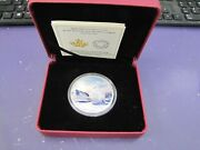 2 Oz Silver Rcm Arctic Snowy Owl Coin Northern Lights Limited Mintage Of 4000