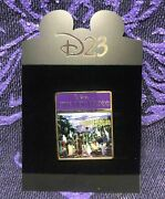 Disney Haunted Mansion Store Website Pin D23 Magazine Cover 2010 New Cloisonne