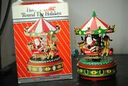 Coca Cola- Have A Coke Around The Holidays 1994 Deluxe Action Musical Carousel