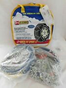 Les Schwab Quick Fit Sport Lt Tire Snow Chains, Stock 2318-s, Never Used