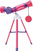 Educational Insights Geosafari Jr. My First Telescope Pink, Stem Toy For