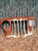 Original Jeep Mail Truck Grille Vintage 1970and039s