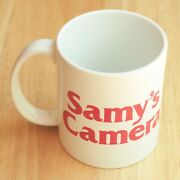 Samy's Camera Photography Store Collectable Mug Coffee Cup Ceramic Heavy White