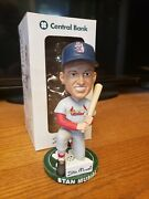 St Louis Cardinals Stan Musial Central Bank Bobblehead