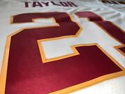 Mitchell And Ness Washington Redskins 2007 Sean Taylor Legacy Replica White Jersey