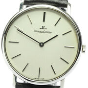 Jaeger-lecoultre 9124.42 Antique Silver Dial Hand Winding Men's Watch_645897