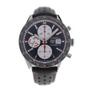 Tag Heuer Watches Cv201ap Stainless Steel Leather Black