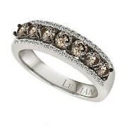 Le Vian 14ct Vanilla Gold Chocolate Diamond Over 1ct Ring Size L Sold Out