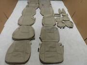 Factory Take-off Leather Seat Covers Fits Gmc Denali Tahoe Tan 2011-2014 Fs115