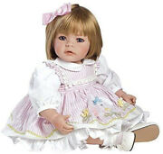 New Adora Toddler Baby Pin-a Four Seasons 20 Girl Weighted Doll And Extra Clothes