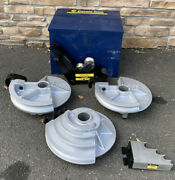 Brand New Current Tools Pipe Bending Shoes And Rollers 1/2andrdquo-2andrdquo Emt Greenlee 555 77