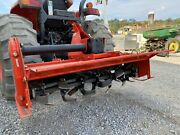 Land Pride Rtr1258 Rotary Tiller For Tractors, 3 Point, 540 Pto, 58 Till Width