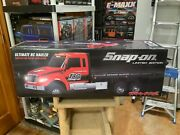 New Traxxas R/c Ultimate Flatbed Snap-on Tools Hauler Truck Limited Edition