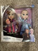 Disney Frozen 2 Princess Anna And Elsa Singing Sisters Interactive Feature Dolls