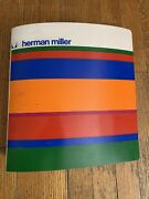 1973 74 George Nelson Herman Miller Furniture Catalog Rare Product File Book