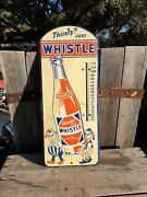 Thirsty Whistle Vintage Tin Thermometer
