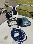 Nice Polaris 9300 Sport Robotic Pool Cleaner W/ Cart And Powerhead - Works Great