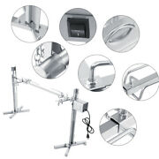 Rotisserie Kit For Barbecue Stainless Steel Spit Rod Meat Forks With Electric Ss