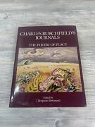 Charles Burchfield's Journals The Poetry Of Place Hc Dj 1st Ed 1993 Color Art