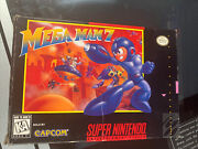 Mega Man 7 Super Nintendo Snes 1995 Authentic - Tested And Working Cib Complete