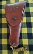 Boyt 42 Wwii Us Army Military Colt 45 Leather Holster Made In England