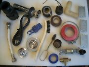Junk Drawer Lot Of Plumbing And Electrical Items And Tools 23 Pcs.