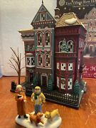 Dept 56 Christmas In The City East Village Row House Mint In Box 59266