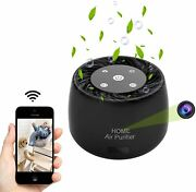 Wireless-wifi-hidden-spy-camera,1080p Full Hd Night Vision And Motion Detect