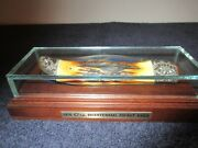 Case 1976 Bicentennial Stag 5165 Vintage Limited Knife Serial 3202 W/ Display