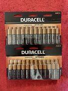 48 Batteriesduracell Aa, 2-24 Packs⭐️sealed And Fresh⭐️ships Free⭐️exp.03/2030