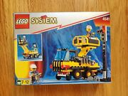 Lego Town 9v Train 4541 Rail And Road Service Truck New And Sealed 1991