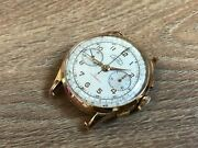 Used - Chronographe Suisse Ancre 17 Rubis - Gold 18k - Rope Manual