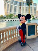 Disney Character Mascot Costumes Cosplay Photo Party Mickey Mouse Only Head