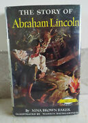 The Story Of Abraham Lincoln Nina Brown Baker Signature Book Excellent Hc/dj