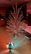 Vintage 6 Ft. Aluminum, Christmas Tree With Color Wheel Complete In Box