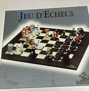 Tex Avery 1989 Demons And Merveilles Chess Set Droopy Red Hot Wolf