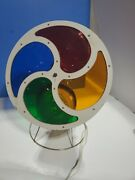 Vintage Electro Model Rotating Color Wheel For Aluminum Christmas Tree