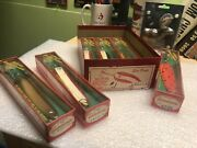 Vintage Nos Box Of Red Devle Sea Devle Lures Saltwater And Freshwater Fishing