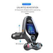 Universal Car Fm Transmitter Mp3 Bluetooth Player Hands Free Adapter Usb Charger