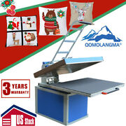 Us Stock 31 X 39in Textile Thermo Heat Press Machine For Decorate Fabric Print
