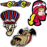 Wacky Racers Patches Embroidered Tv Cartoon Hanna Barbera Penelope Pitstop