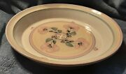 Vintage Hand Thrown Pottery Pie Plate Signed E. Saslaw Lincoln Vt