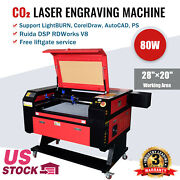 80w 28 Andtimes 20 Co2 Laser Engraving Engraver And Cutter Machines Red Dot Point