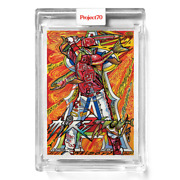 Topps Project 70 Card 654 - Mike Trout By Jk5 Project70 Presale 654